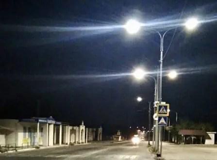 На Фиолентовском и Монастырском шоссе в Севастополе обустроили наружное освещение