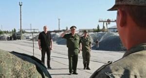 Военных строителей, что проложат новый водовод «Белогорск – Симферополь», встречал Глава Крыма