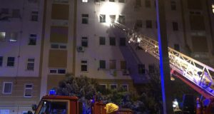 Ночной пожар в Севастополе - эвакуировали 50 человек