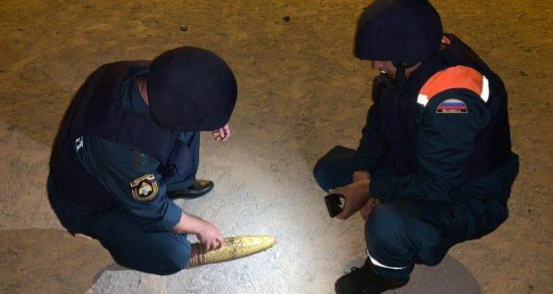 В Севастополе в подъезде многоквартирного дома нашли артиллерийский снаряд