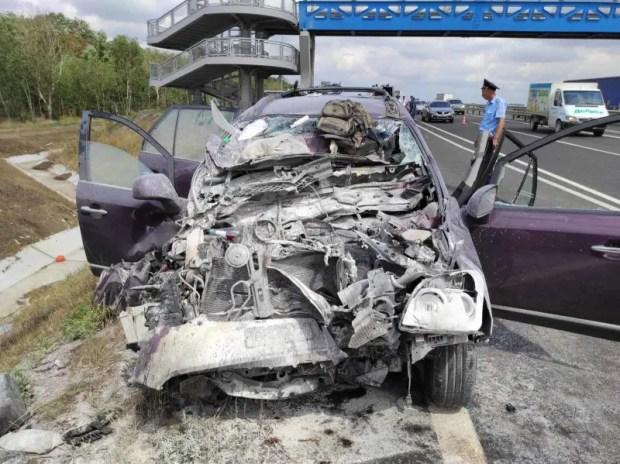 Серьезное ДТП на трассе «Таврида»: двое пострадавших