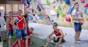 В Алуште к олимпийским играм готовится сборная России по скалолазанию
