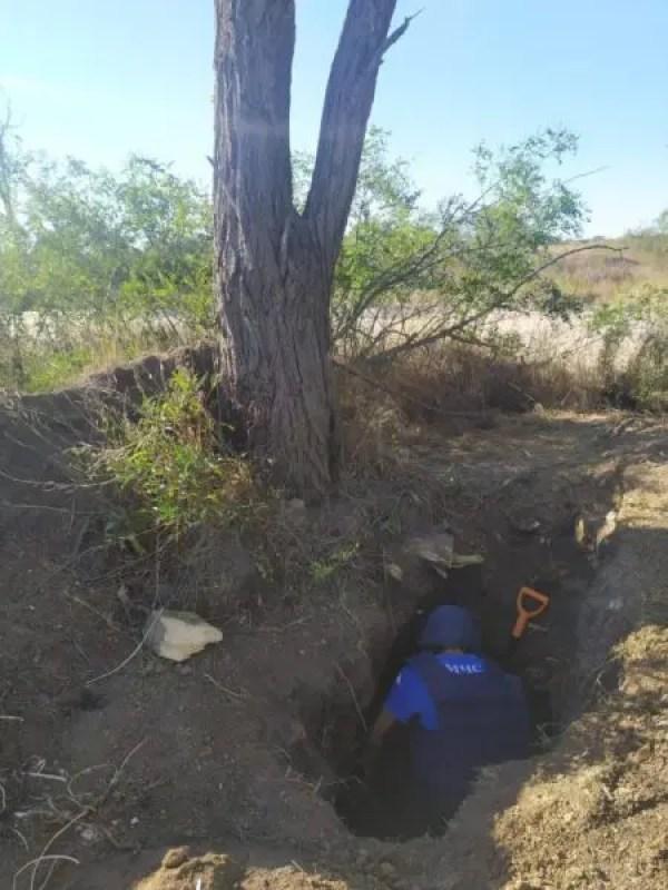 В Ленинском районе Крыма и в Керчи обнаружили 283 боеприпаса времён войны