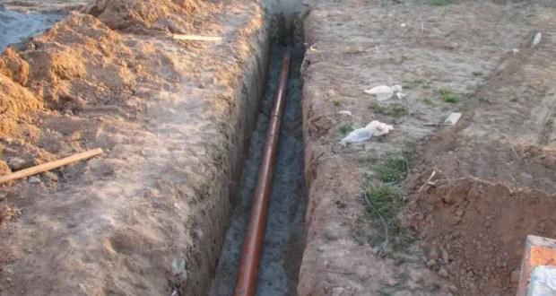 В Богдановку, под Симферополем скоро начнут подачу воды. Трубы уже проложены