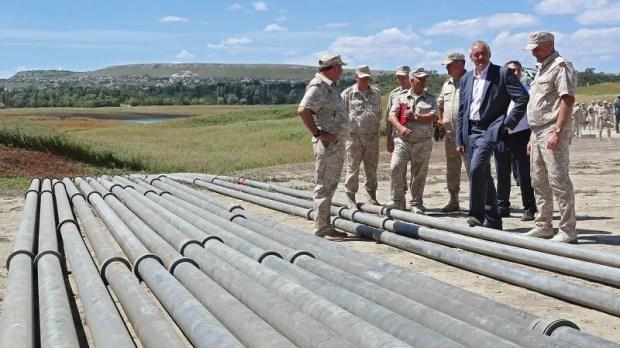 В Симферопольское водохранилище пошла вода из Белогорского района. Как это было.