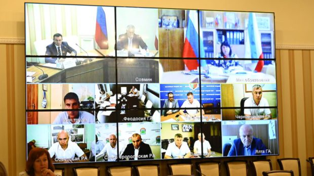 Сергей Аксёнов провёл заседание по реализации нацпроектов в Крыму