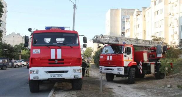 Пожар в Севастополе - эвакуировали 20 человек