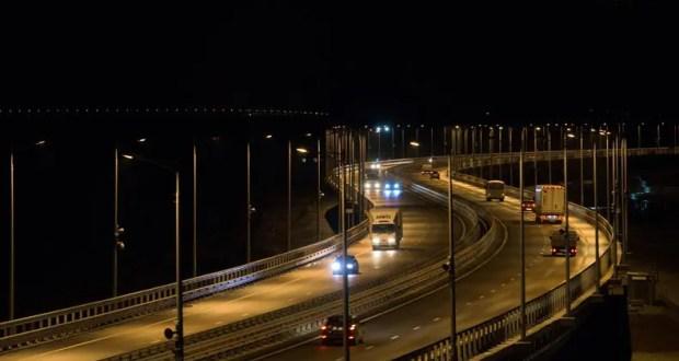 За лето по Крымскому мосту – миллион машин