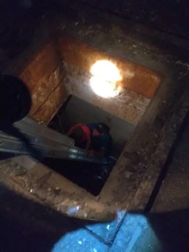 Занесло же... В Щёлкино мать с ребёнком упали в колодец на заброшенной АЭС