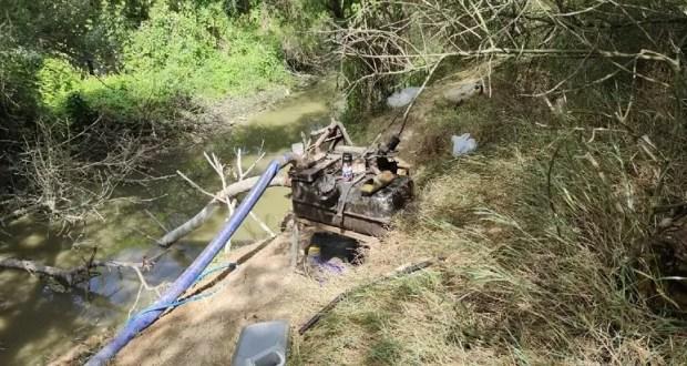Хитроумный крымский фермер воровал воду из реки Салгир. Хоть и «только для полива», а закон нарушил