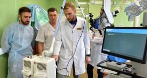 В онкологическом диспансере установлен лазерный хирургический комплекс «СО 2 лазер»