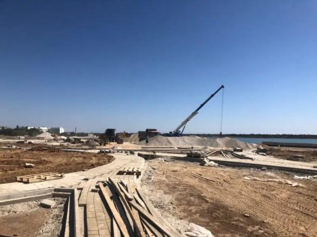 Как идут работы на объектах ФЦП в Сакском районе