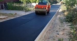 В Симферополе близок к завершению ремонт улицы Суходольной