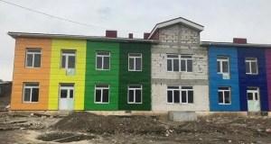 Школа в селе Заречное Симферопольского района готова на 85%