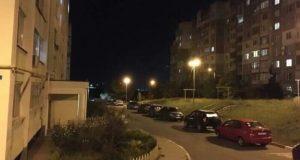 В Симферополе ремонтируют сети наружного освещения
