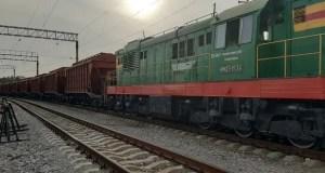 Первые вагоны сзерном, предназначенным наэкспорт в Сирию, прибыли вКрым пожелезной дороге
