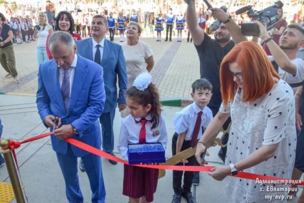В Евпатории презентовали новую школу. Впервые за 25 лет