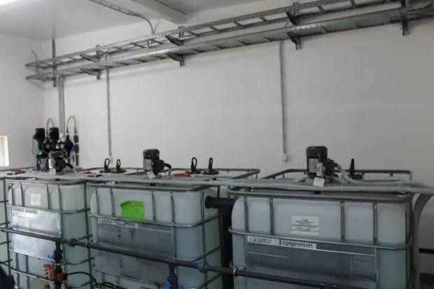 На КОС «Северные» (не путать с»Южными») завершена реконструкция системы обеззараживания сточных вод