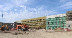 В бухте Казачья в Севастополе продолжается строительство школы