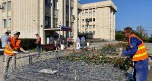 Капитальный ремонт скверов вдоль проспекта Октябрьской Революции начинается в Севастополе
