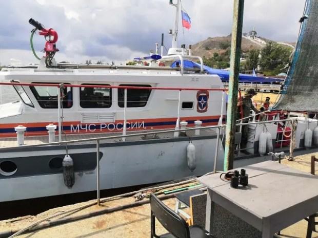 В Керченском проливе спасали экипаж яхты «Адмирал»