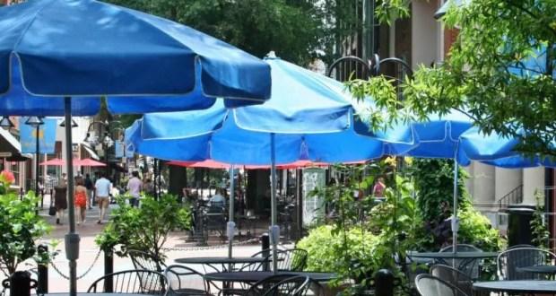Как выбрать зонт для кафе и ресторана размером 4х4?