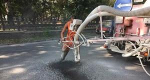 Где проводится ямочный ремонт дорог в Симферополе