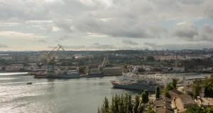 На Корабельной стороне Севастополя завершились работы по вывозу авиабомбы времен войны
