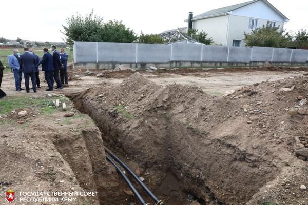 Многоквартирный дом для реабилитированных в Сакском районе достроят к концу 2021 года