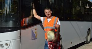 Лучший водитель автобуса в Севастополе? Антон Рыбалкин