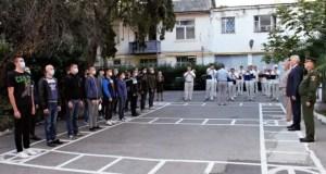 Первые пошли: 17 ялтинских призывников пополнили ряды Вооружённых сил страны