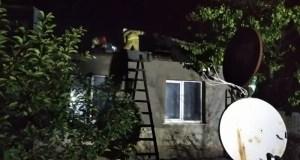 Вечерний пожар в Нижнегорском районе Крыма. Пострадал 68-летний мужчина