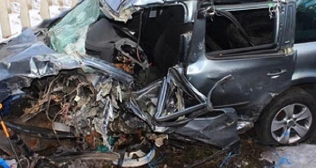 Ночное ДТП в Сакском районе Крыма: двое погибших