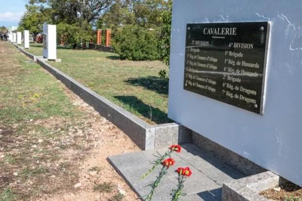 В Севастополе перезахоронили останки французских солдат