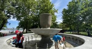 Севастопольские фонтаны больше не работают
