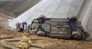 «Отрыв и падение»… Странное ДТП на трассе «Таврида»