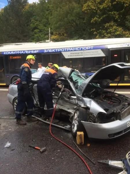 В ДТП на трассе «Симферополь – Алушта» погиб пассажир легкового автомобиля
