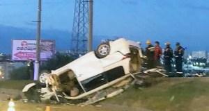 Смертельное ДТП в Севастополе: иномарка врезалась в столб