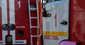 Ночной пожар в Севастополе