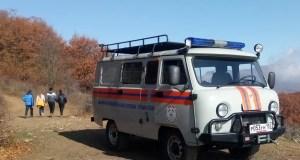 «КРЫМ-СПАС» эвакуировал пострадавшую из горно-лесной зоны горы Демерджи