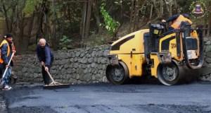 На ЮБК ремонтируют дороги