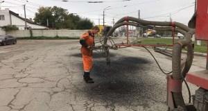 Ямочный ремонт в Симферополе: какие улицы ремонтируются в ноябре