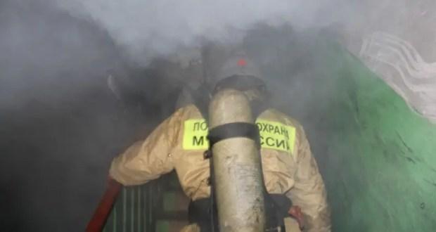 На пожаре в Ялте эвакуировано 47 человек