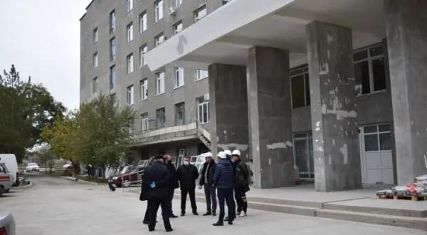 Что показала проверка ремонтных работ в Джанкойской центральной районной больнице