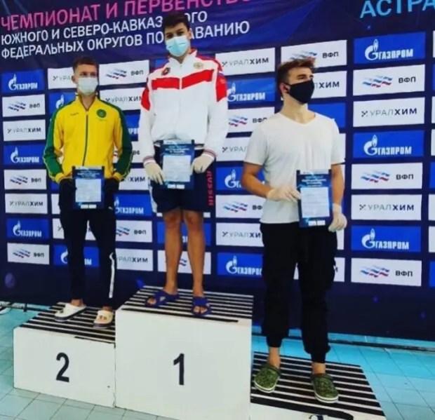 Пловцы из Симферополя завоевали семь медалей на соревнованиях в Астрахани
