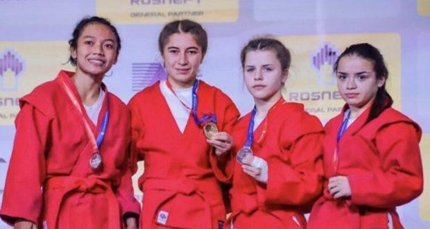 Кристина Варламова из Керчи – бронзовый призер первенства мира по самбо среди юниорок