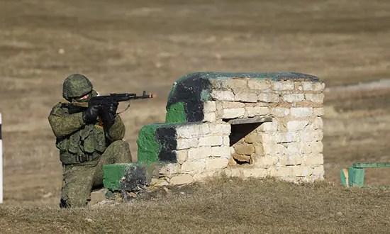 Подразделения армейского корпуса Черноморского флота провели боевые стрельбы на полигоне в Крыму