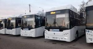 В Симферополе на маршруты вышли новые автобусы