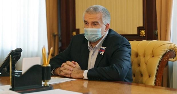 Аксёнов не дозвонился на «горячую линию» минздрава Крыма. «Полетели головы»