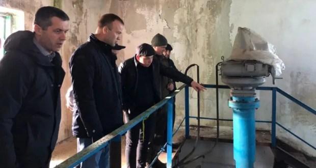 В районе Межгорного водохранилища начался капитальный ремонт водовода
